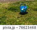 芝生と砂場遊びのおもちゃ 76623468