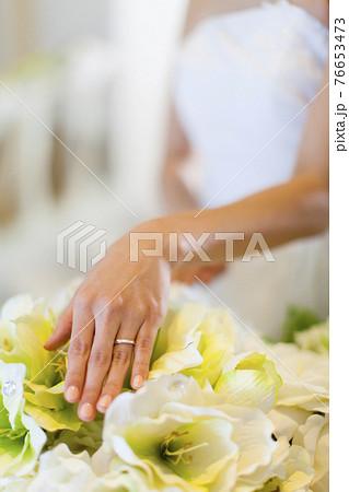 結婚指輪と花嫁 76653473