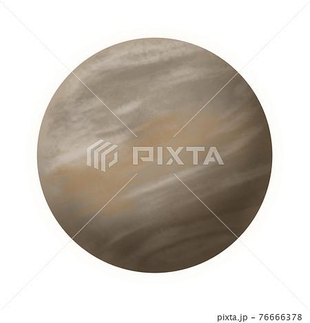 金星のイラスト素材 76666378