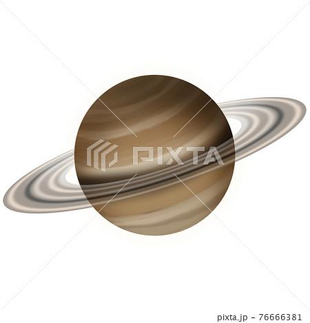 土星のイラスト素材 76666381