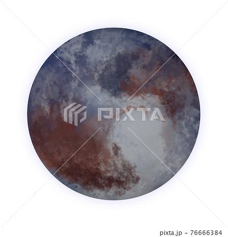 冥王星のイラスト素材 76666384