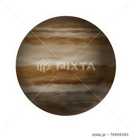 木星のイラスト素材 76666385
