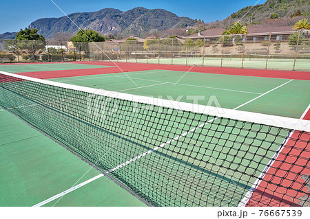 【テニスコート】 76667539