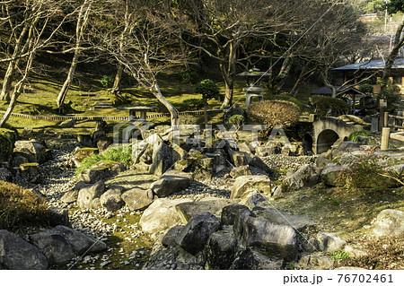 尾関山公園 日本庭園 広島県三次市 76702461