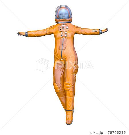宇宙飛行士のエイリアン 76706256
