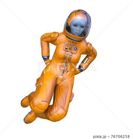 宇宙飛行士のエイリアン 76706258