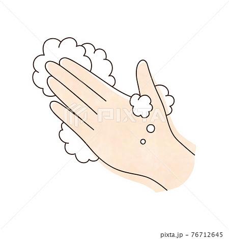 左手と泡 76712645