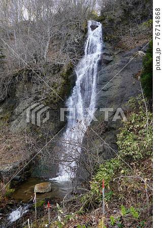 三味線滝・鹿部町 76714868