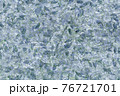 Background, texture of a concrete wall with an abstract pattern in blue-green tones 76721701