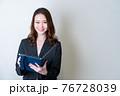 女性ビジネスイメージ 76728039