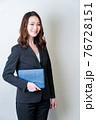 女性ビジネスイメージ 76728151