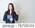 女性ビジネスイメージ 76728154