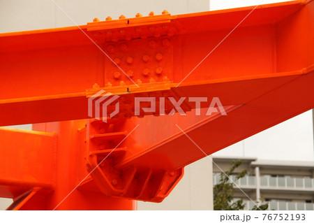 防護鋼(高さ制限バー)の接続箇所 76752193