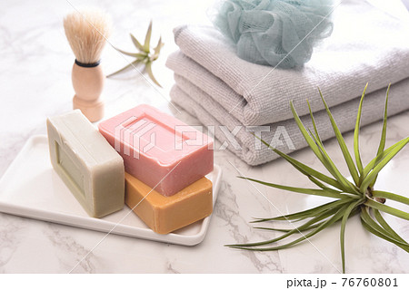 お風呂場の石鹸 76760801