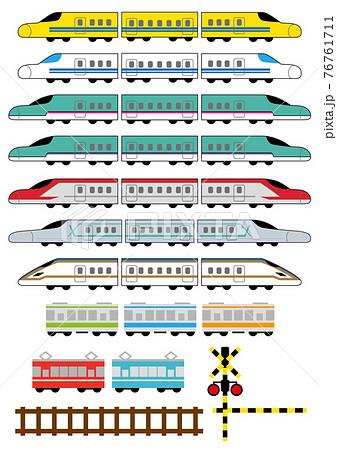 新幹線_電車 76761711