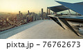 Modern building exterior and cityscape. 76762673