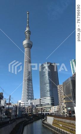 東京スカイツリーと東京スカイツリーイーストタワー 76796690