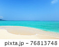 沖縄の綺麗な海 76813748