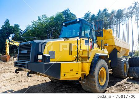 建設機械 重機ダンプトラック 76817700