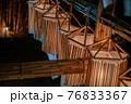 ヨシの光と湖|西の湖ヨシ灯り展 76833367