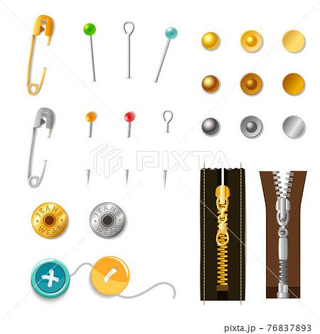 Metal Accessories Set 76837893