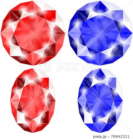 ブリリアンカットの宝石 76842521