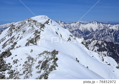 北アルプス 立山から展望 76852972
