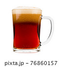 Red beer mug isolated on white background 76860157