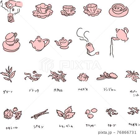 紅茶の原材料と淹れ方したく 76866731