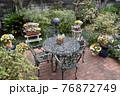 花のある庭 76872749