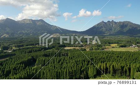 阿蘇の月廻り公園からの景色 76899131