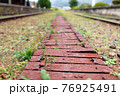 旧大社駅、廃線の面影 76925491