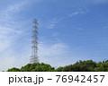 青空にそびえる巨大鉄塔2 76942457