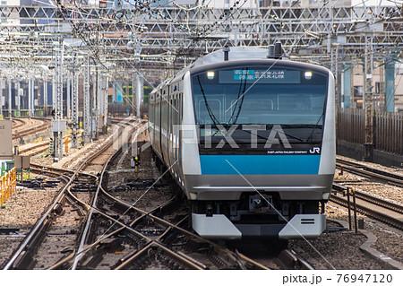 京浜東北線の電車 76947120