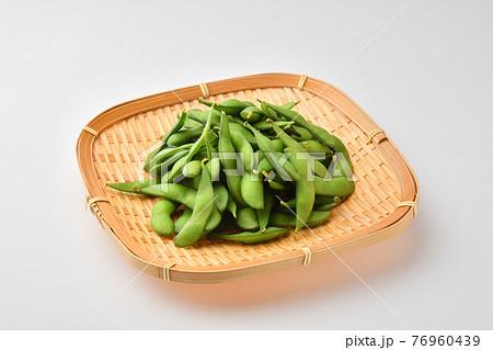枝豆 かご 76960439