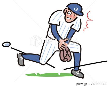 野球におけるトンネルのエラー 76968050