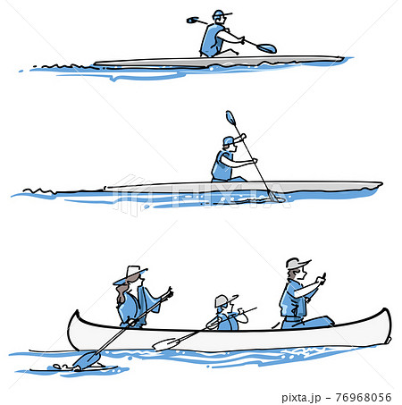 カヌーセット-ウォータースポーツ 76968056