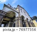 Madonna del Caravaggio old abbey church Liguria Recco Italy 76977356
