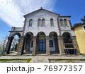 Madonna del Caravaggio old abbey church Liguria Recco Italy 76977357