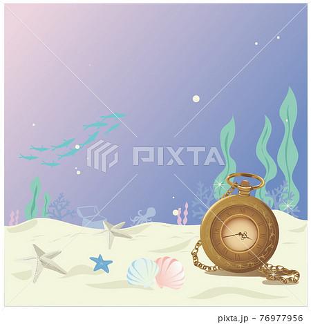 海底の懐中電灯 76977956
