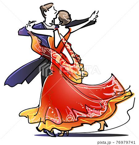 社交ダンス 76979741