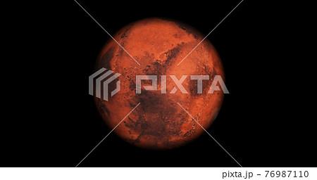火星のイメージ図 76987110