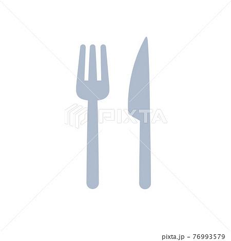 フォークとナイフ 76993579