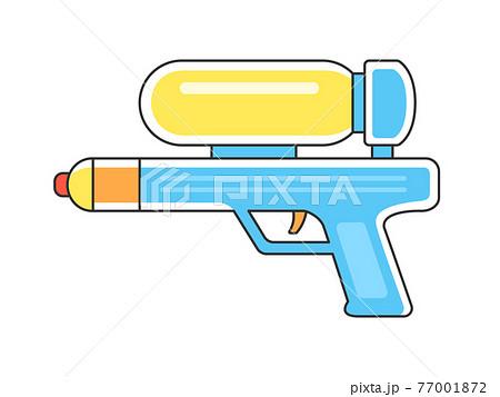 おもちゃの水鉄砲のイラスト 77001872