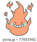 炎キャラクター 77003992