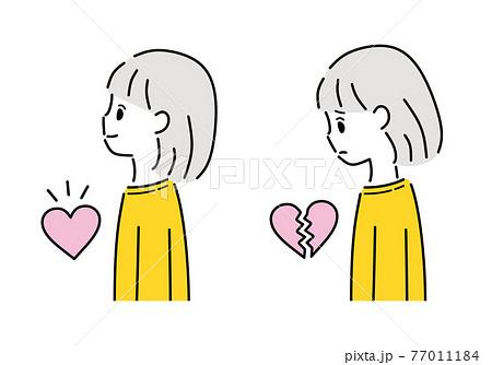 メンタル 心 女性 女の子 77011184
