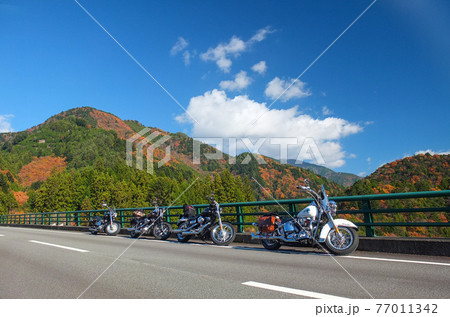 オートバイツーリング 77011342
