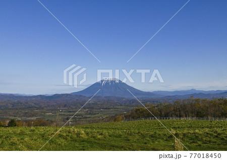 秋の羊蹄山 洞爺 77018450