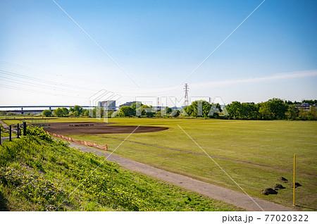 多摩川緑地野球場 77020322