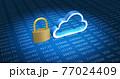 クラウドコンピューティングのセキュリティイメージ 77024409